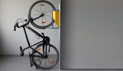 New Bike Rack Offers Small-Space Storage Solution