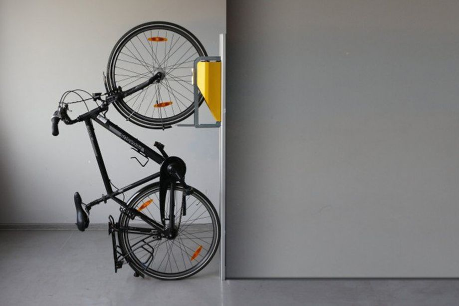 New bike rack offers small space storage solution keith katzman moraga 39 s top producing real - Bike storage for small spaces image ...